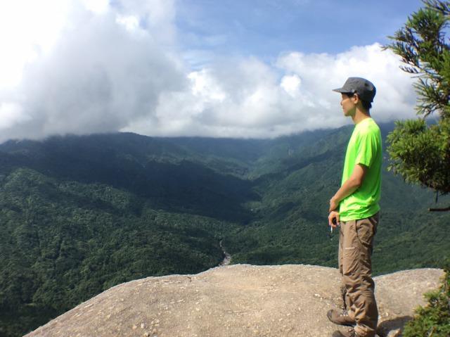 屋久島にある太鼓岩からの絶景!