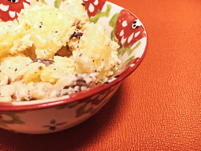 サバ節はジャーマンポテト風でもおいしく食べられる!